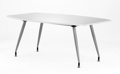 Gentoo High Gloss Writeable Boardroom Table 1800 x 1200mm