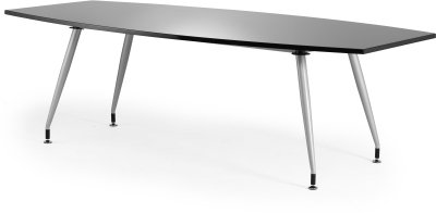Dynamic High Gloss Boardroom Table 2400mm