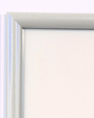 Spaceright Coloured Powder Coated Poster Display Frame - A4 250 x 335mm