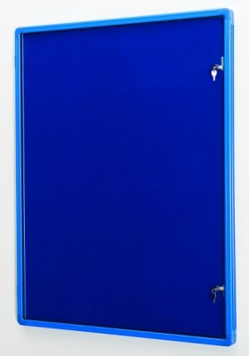Colour Co-ordinated Decorative Tamperproof Noticeboards 1800 x 1200mm