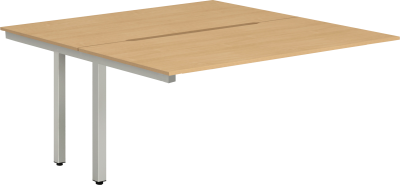Gentoo Back to Back Pod of Two Extension Desk 1400 x 1600mm