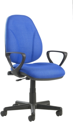 Bilbao Operators Chair with Fixed Arms