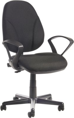 Dams Bilbao Operators Chair with Fixed Arms