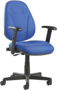 Bilbao Lumbar Operators Chair with Adjustable Arms