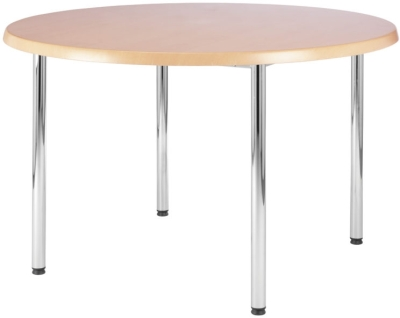 Beacon Chrome Round Table 900mm Diameter