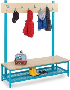 Bubblegum Cloakroom Bottom With Boot Rack