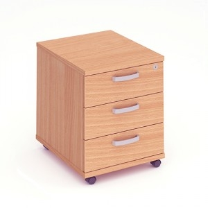Dynamic Evolve & Impulse Mobile Pedestal 3 Drawer