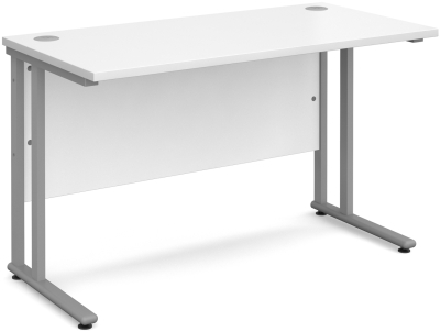 Gentoo Bulk Twin Cantilever Leg (800mm Deep Range) - Straight Desk 1200 x 800mm