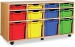 Classic Tray Storage Unit 4 Shallow, 4 Deep and 4 Jumbo Trays