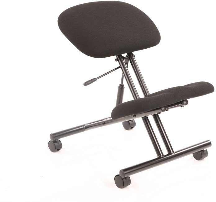 gentoo kneeling stool black frame