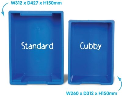 Cubby Tray Units