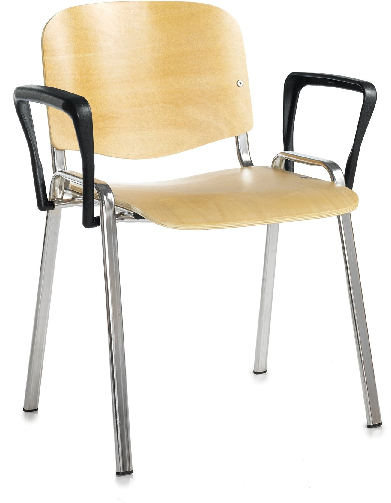 Taurus wooden stacking chair with arms price per box of