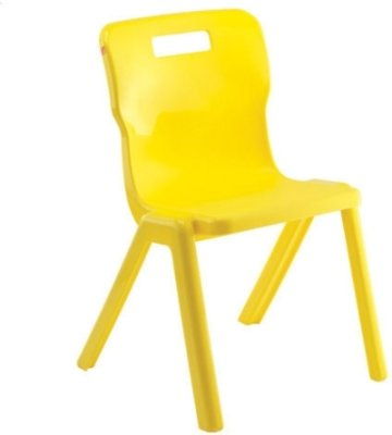 Titan One Piece Classroom Chair Size 4 (7-9 Years)