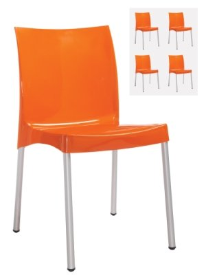 Dams Orb Lightweight Stacking Chairs (Box of 4)