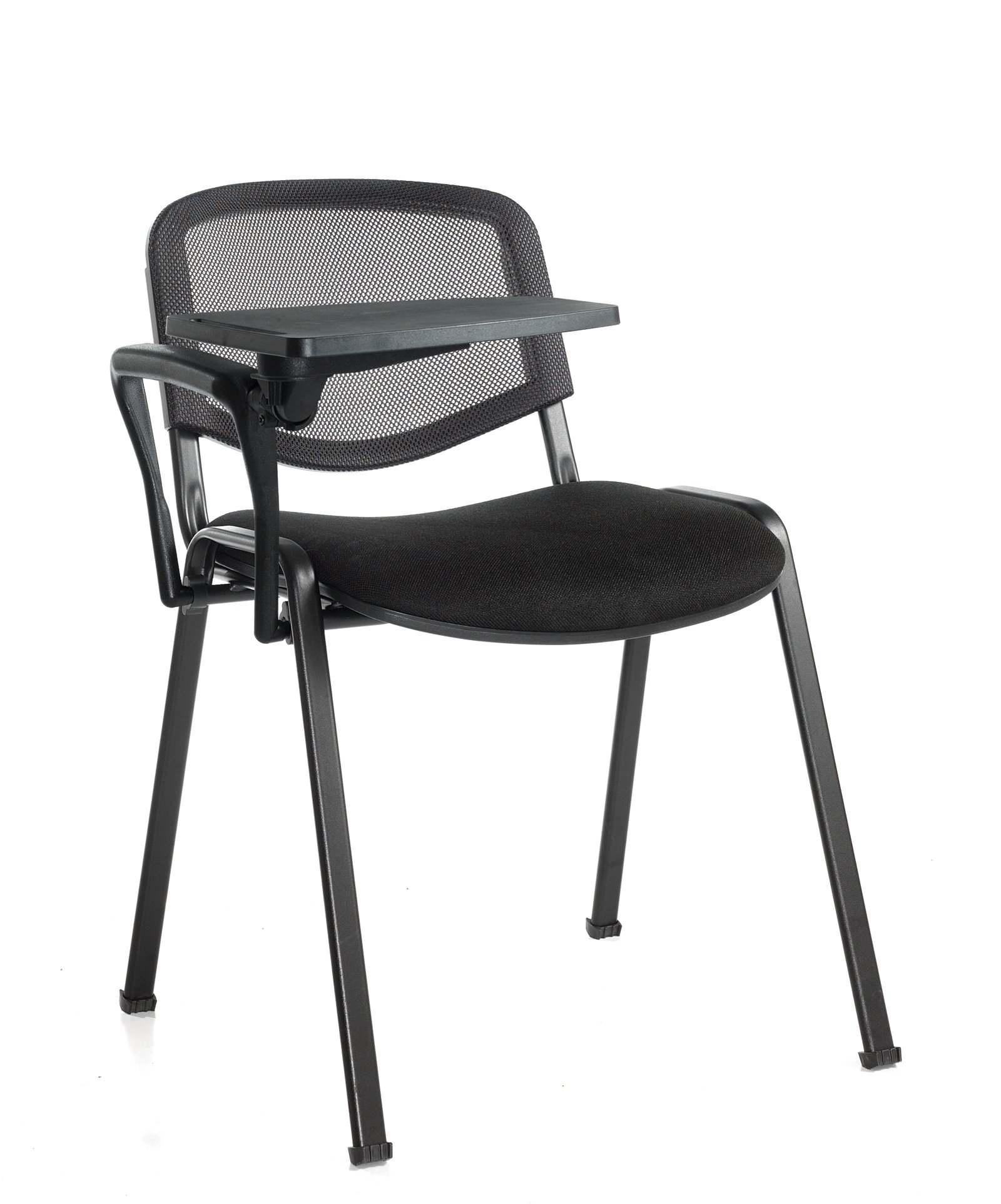 taurus mesh stacking chairs with writing tablet price per box of 4