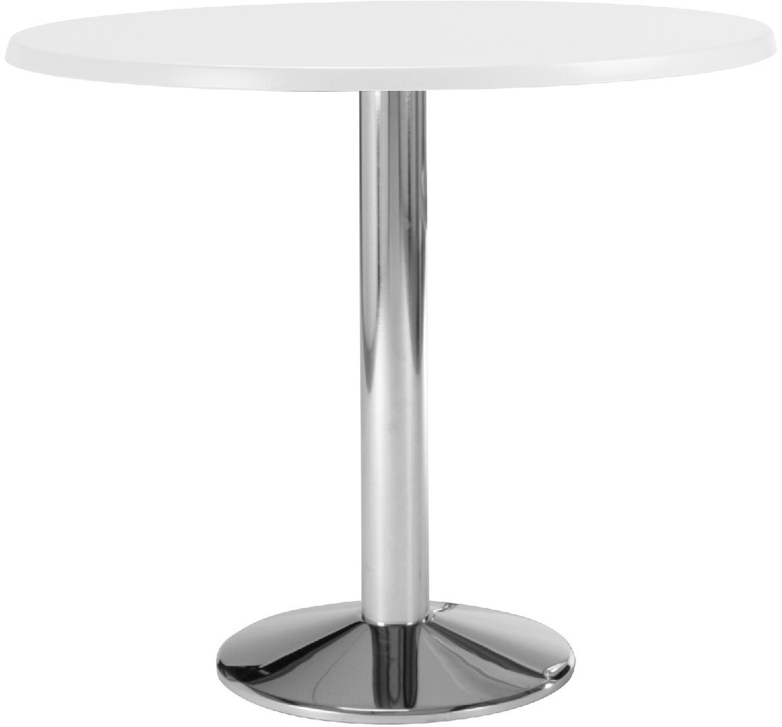 Fr Vi Wedge Chrome Coffee Table With Fusion Finish 600mm