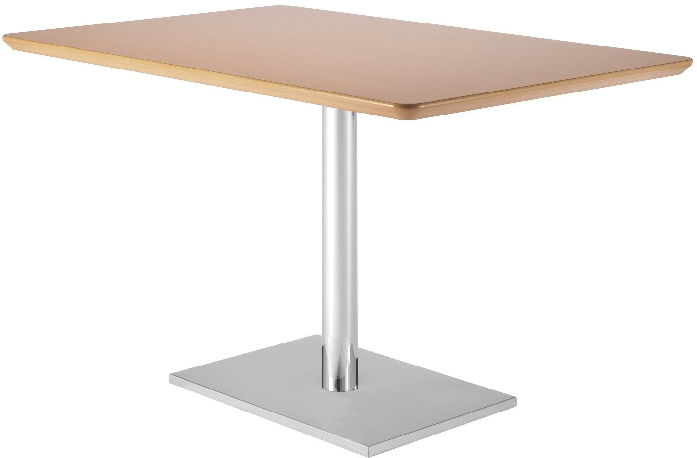Frövi Flat Rectangular Dining Table With MFC Finish