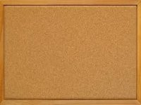 Gopak Wooden Framed Cork Noticeboard - 900 x 600mm