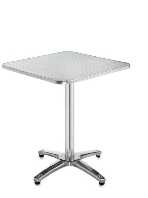 Aluminium Square Outdoor Table